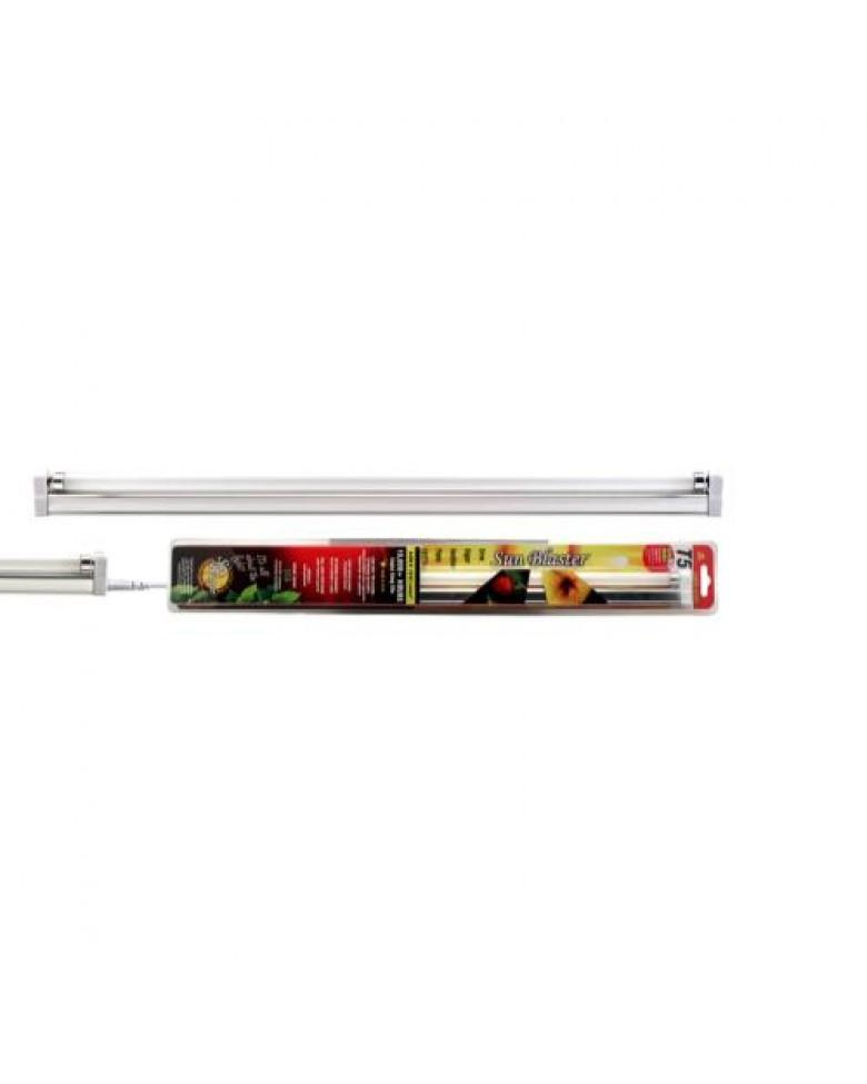 sunblaster 3ft t5 high output fluorescent strip light. Black Bedroom Furniture Sets. Home Design Ideas