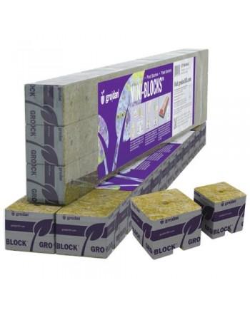 Grodan Stonewool Delta Starter Mini-Blocks