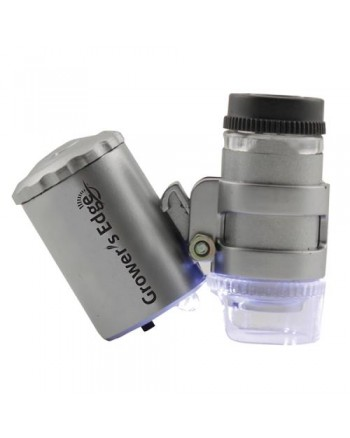 Grower's Edge Illuminated Microscope 60x