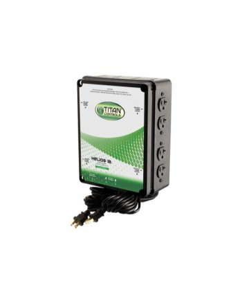 Titan Controls Helios 12 - 8 Light 240V Controller with Dual Trigger Cords